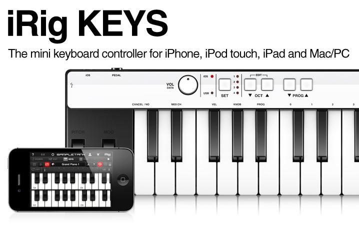 iRig KEYS - Portable MIDI Keyboard