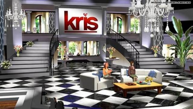 Kris Jenner Talk Show set